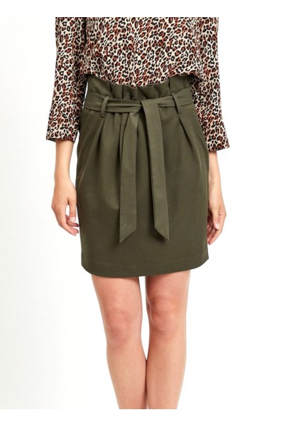 OBJECT - ObjLisa Abella Mini SKirt - Khaki