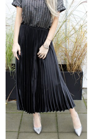 Foni Long Skirt - Black