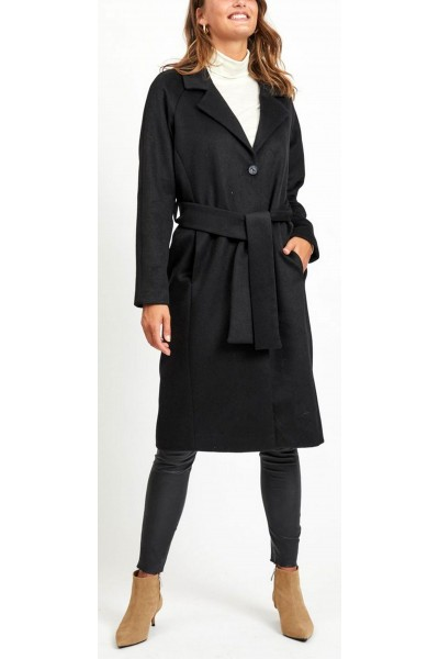 OBJECT - ObjLena Coat - Black