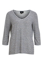 OBJECT - ObjTessi 3/4 Top - Blue Stripe