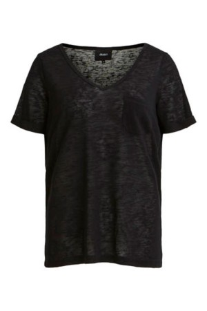 OBJECT - ObjTessi V-Neck - Black