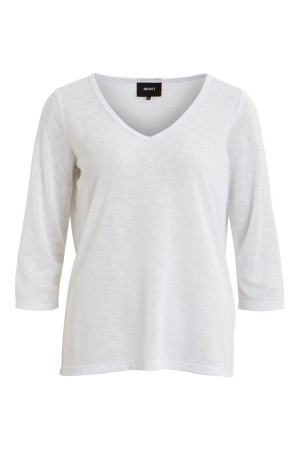 OBJECT - ObjTessi 3/4 Top - White
