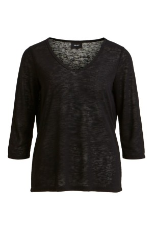 OBJECT - ObjTessi 3/4 Top - Black