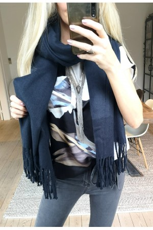 OBJECT - ObjMarilyn Wool Scarf - Sky Captain