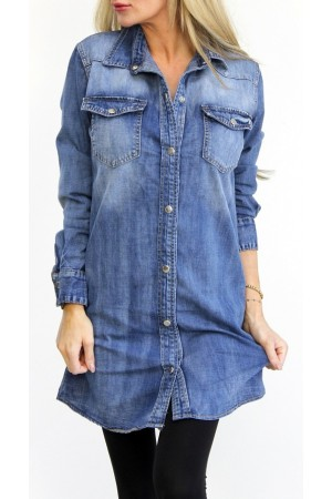 Kiwa Denim Dress