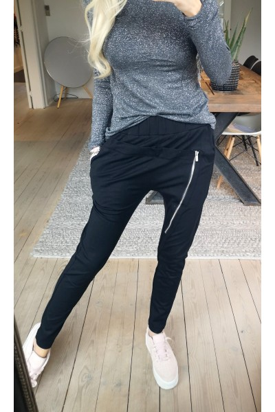 Dali Loose Pants - Black