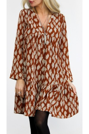 Misja Dress - Brown
