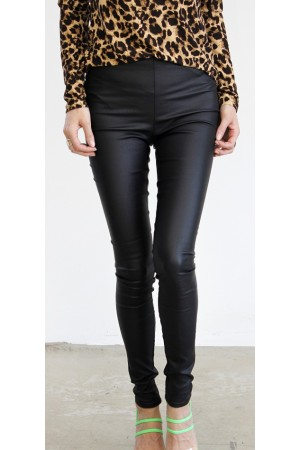 VILA - Vicommit Coated Plain Legging