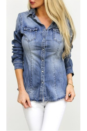 Caly Denim Shirt