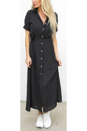 Dinja Dress - Black