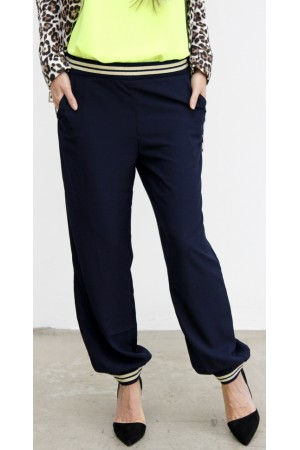 Silas Loose Pants - Marine
