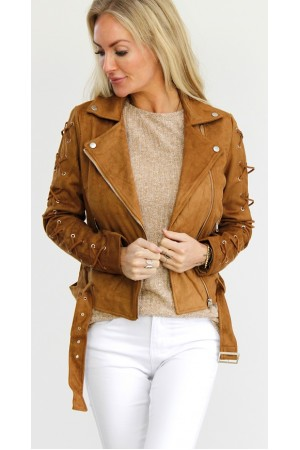 Kicki  Jacket - Brown