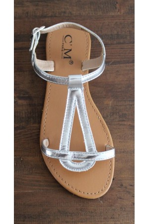 New Candy Sandal - Silver
