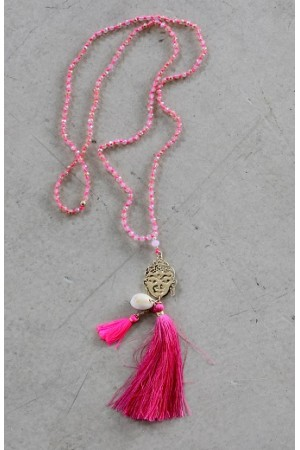 Juice Necklace - Pink