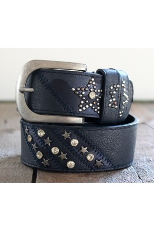 Camille Star Belt - Marine