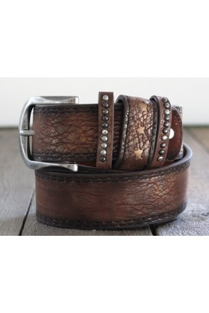 Mille Dirty Belt - Brown