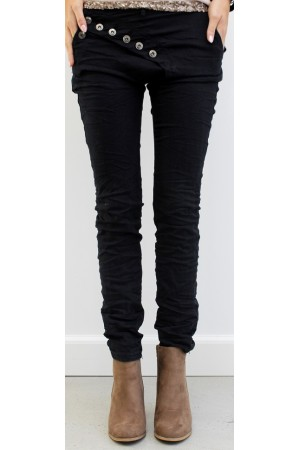 Liana Soft Pants - Black