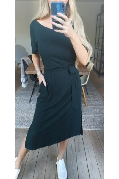 OBJECT - Objcelia S/S Dress - Dark Green