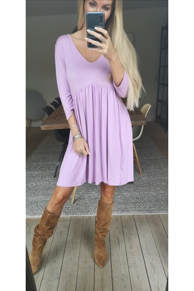 Melba Soft Dress - Light Purple