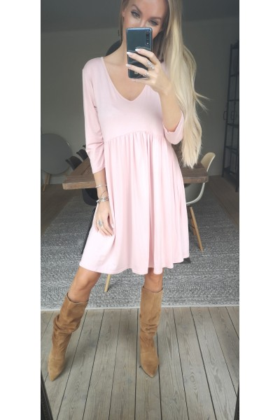 Melba Soft Dress - Rose