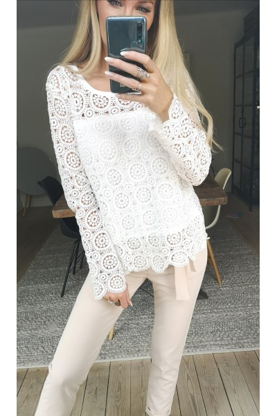 Zenia Lace Shirt