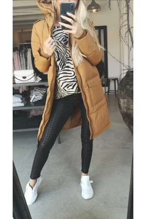 OBJECT - Objzhanna L/S Long Jacket - Chipmunk