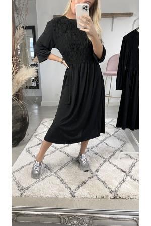 Stella Maxi Dress - Black
