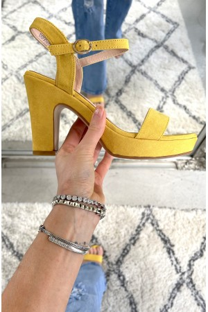 Botine Sandal - Yellow