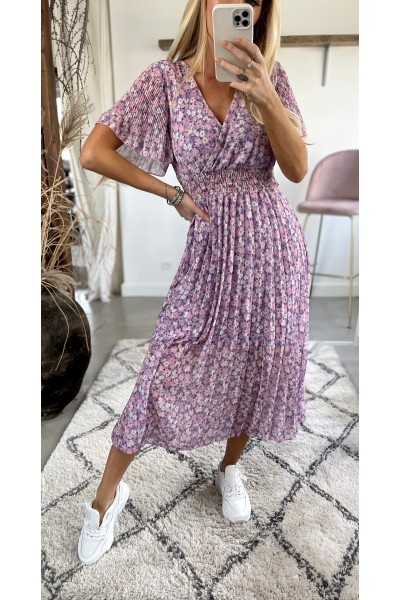 Vilja Dress - Purple