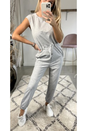 Rosa Sweet Jumpsuit - Grey