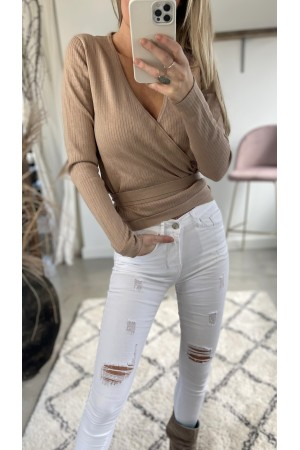 Luna Soft Shirt - Beige