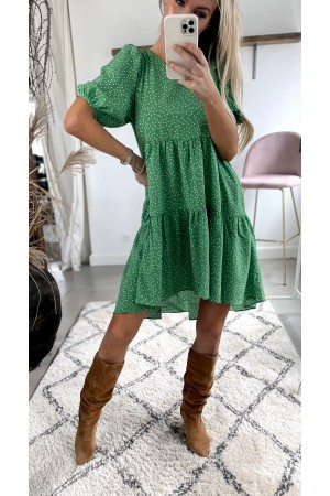 My Dot Dress - Green