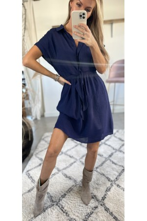Vicki Soft Dress - Marine