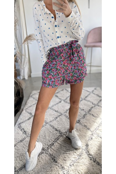 Mical Loose Short - Blue