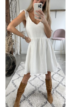 Emma Soft Dress - White