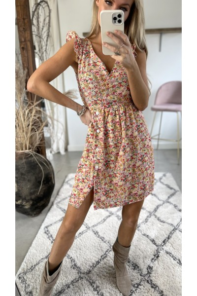 Sally Flower Dress