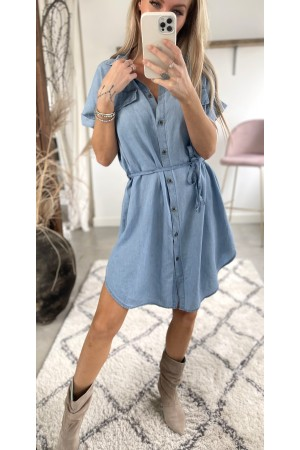 Aura Denim Dress