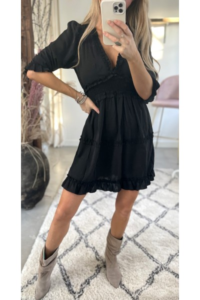 Dora Sweet Dress - Black