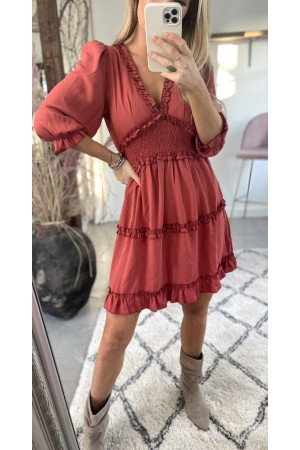 Dora Sweet Dress - Red