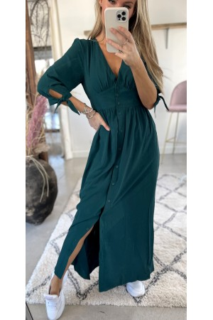 Julia Long Dress - Green