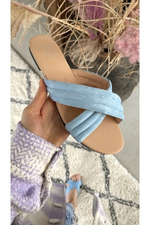 Ally Cool Sandal - Light Blue