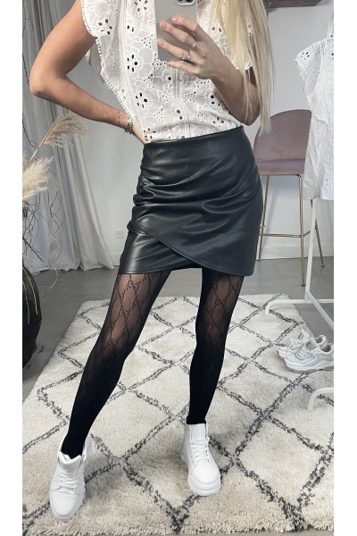 Sasja Leather Skirt