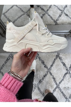 NEW Vintage Soft Sneakers - Creme