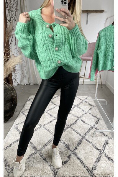 Cimmi Beauty Cardigan - Green
