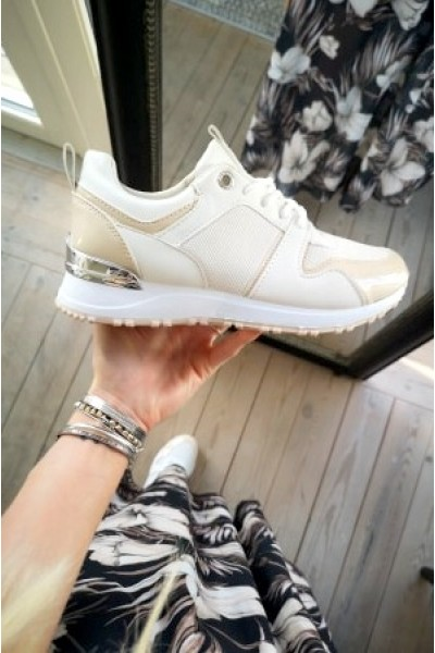 Kamil Soft Sneakers - Creme