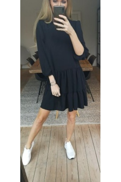 Jenni Loose Dress - Black