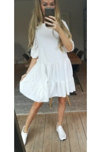 Jenni Loose Dress - White
