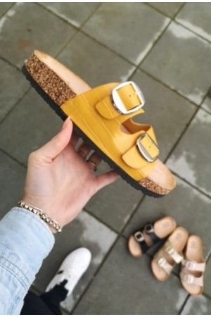 Givana Soft Sandal - Yellow