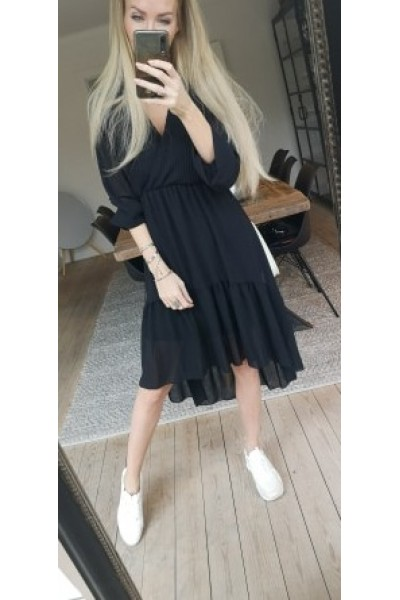 Tilde Loose Dress - Black
