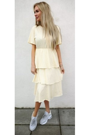 Maja Dress - Light Yellow